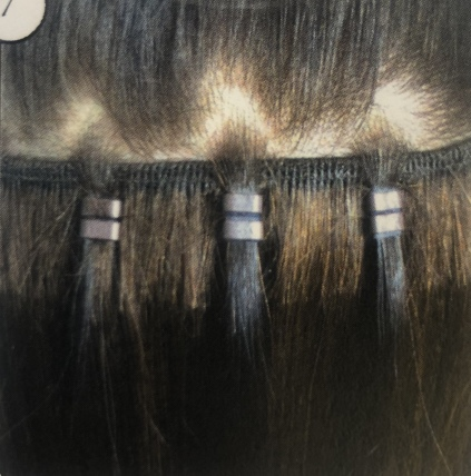 Easy weft hair extension