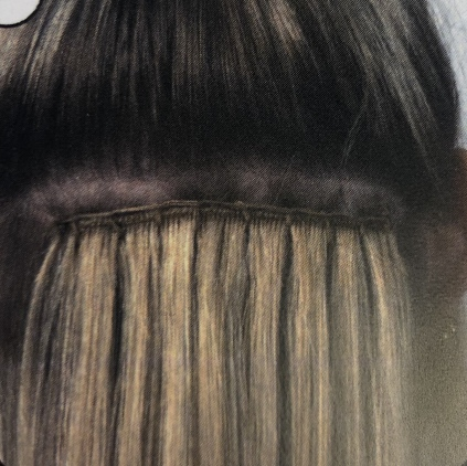 Needle weft hair extension